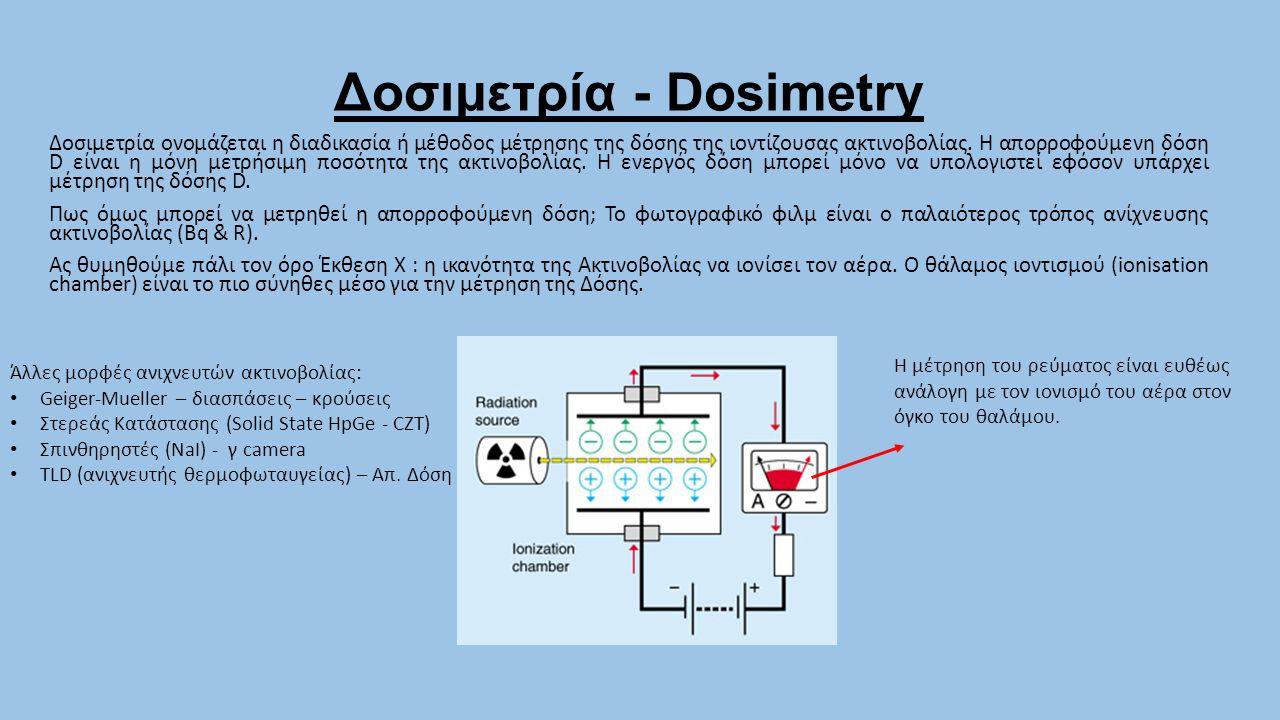 Δοσιμετρία - Dosimetry