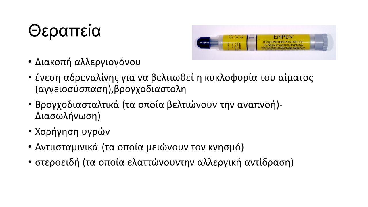 Θεραπεία Διακοπή αλλεργιογόνου
