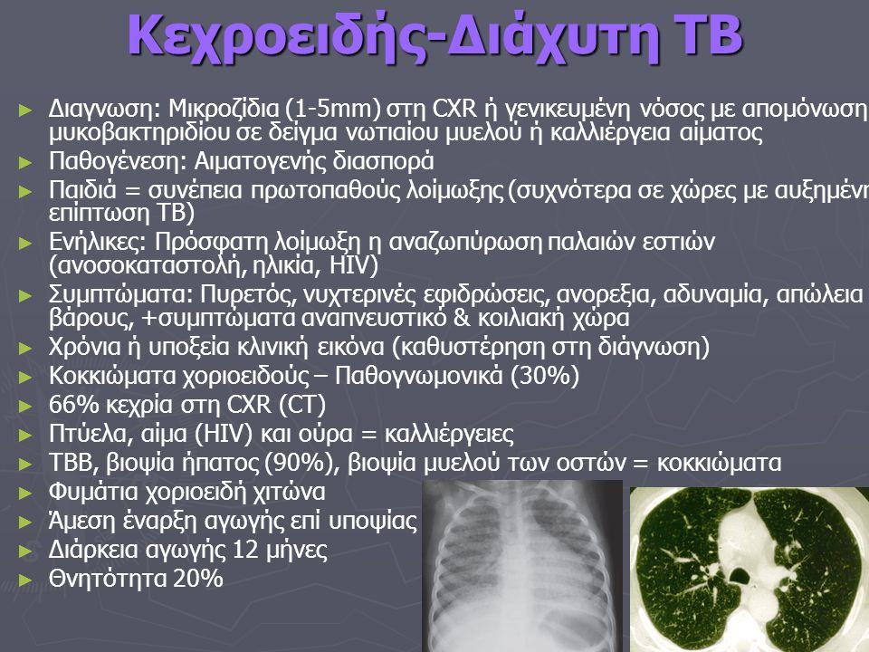 Κεχροειδής-Διάχυτη TB