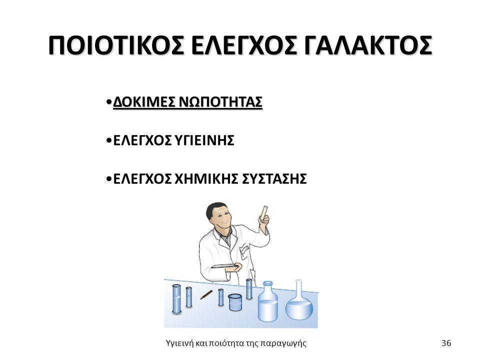 ΠΟΙΟΤΙΚΟΣ ΕΛΕΓΧΟΣ ΓΑΛΑΚΤΟΣ