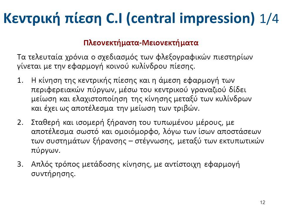 Κεντρική πίεση C.I (central impression) 2/4