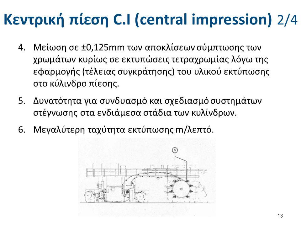 Κεντρική πίεση C.I (central impression) 3/4
