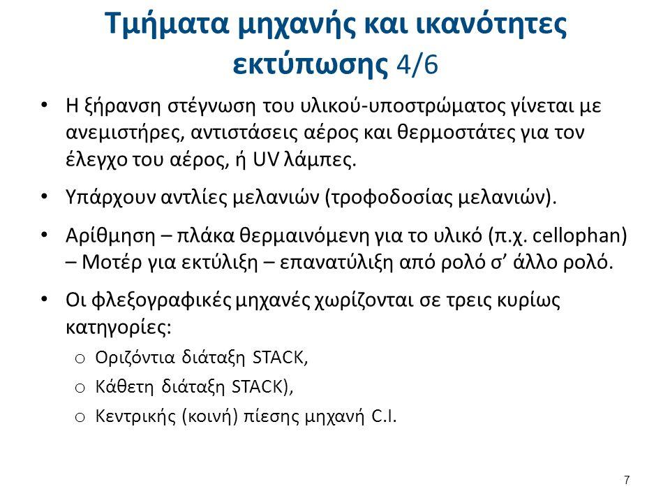 Τμήματα μηχανής και ικανότητες εκτύπωσης 5/6