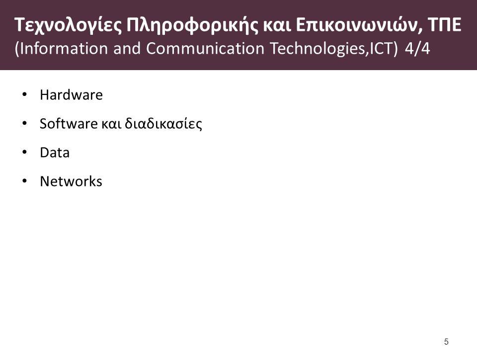 Στάδια εξέλιξης ICT 1/2
