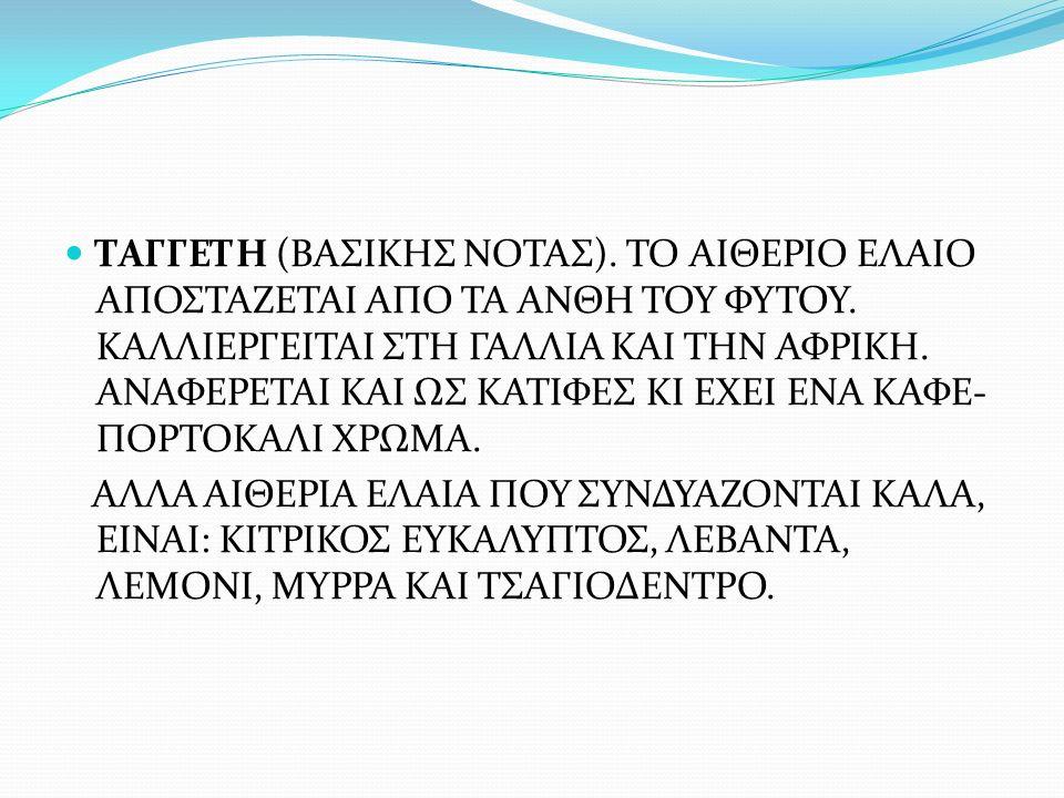 ΤΑΓΓΕΤΗ (ΒΑΣΙΚΗΣ ΝΟΤΑΣ)