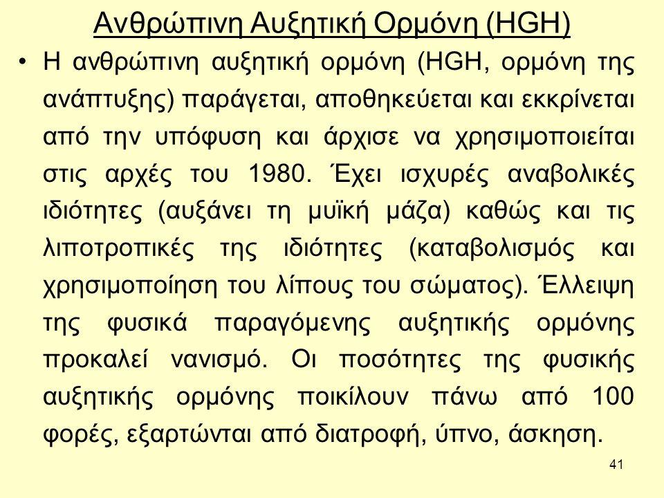 Ανθρώπινη Αυξητική Ορμόνη (HGH)