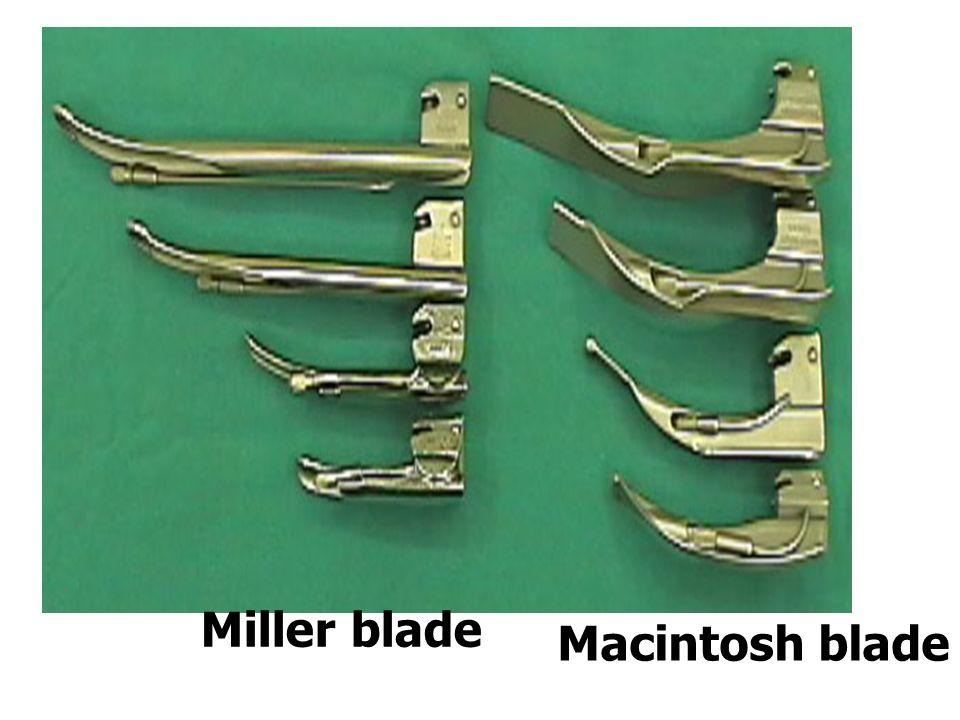 Miller blade Macintosh blade