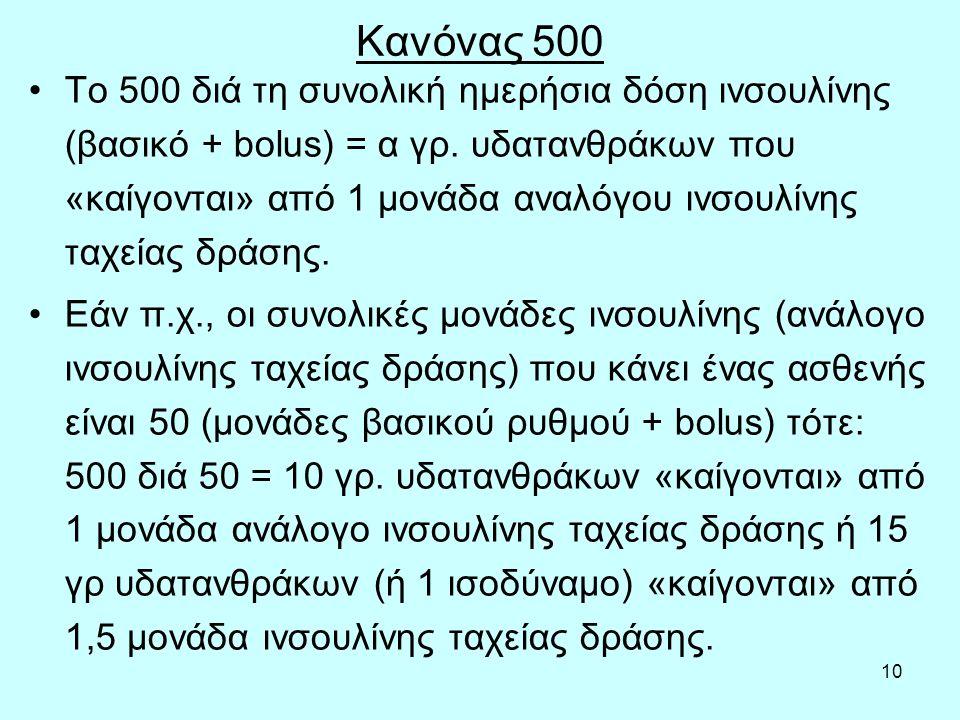 Κανόνας 500
