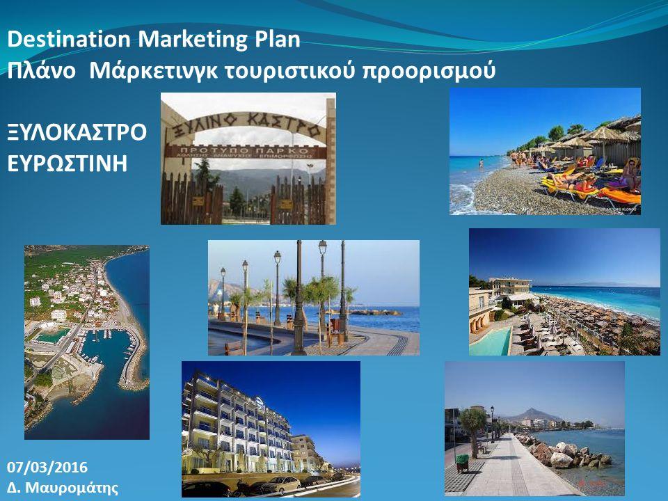 Destination Marketing Plan Πλάνο Μάρκετινγκ τουριστικού προορισμού