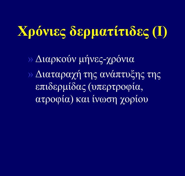 Χρόνιες δερματίτιδες (Ι)