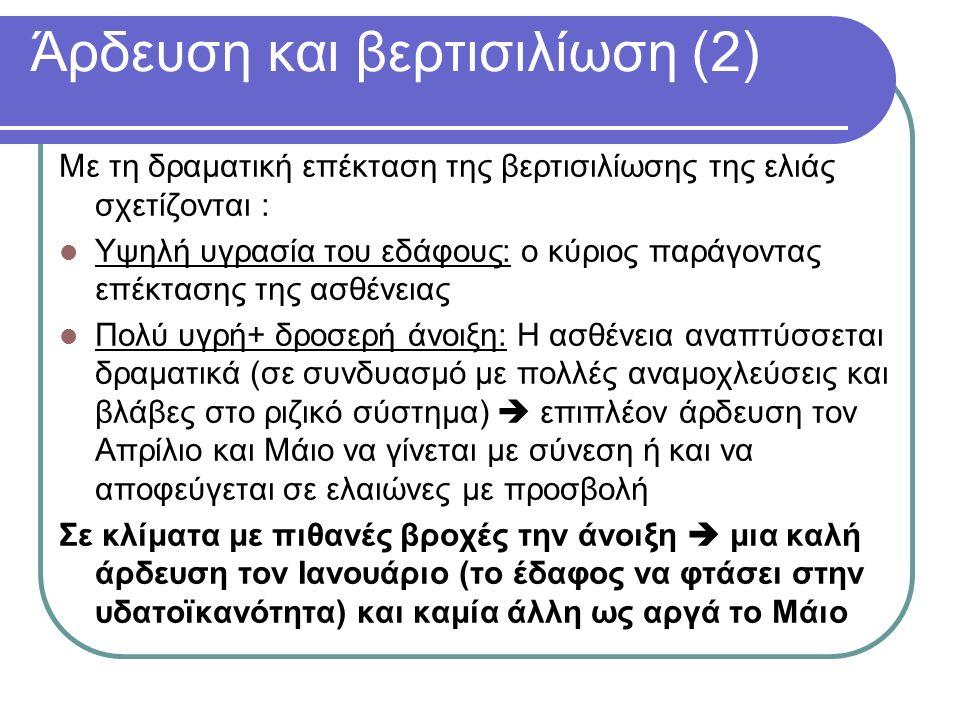 Άρδευση και βερτισιλίωση (2)