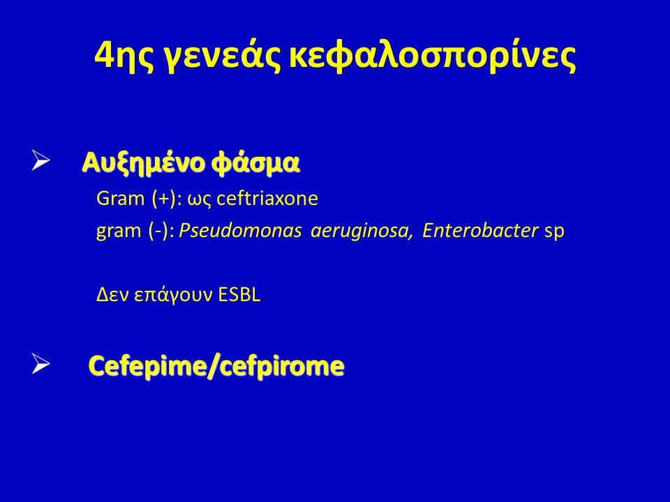 4ης γενεάς κεφαλοσπορίνες