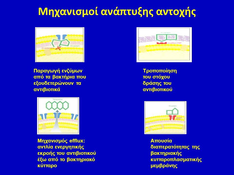 Μηχανισμοί ανάπτυξης αντοχής