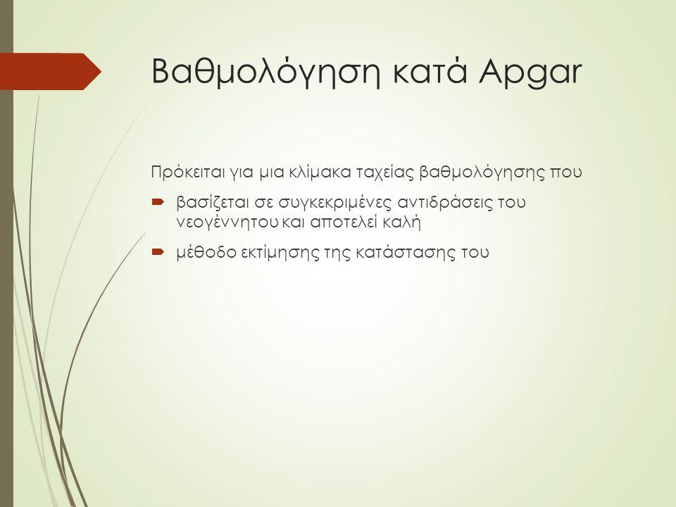 Βαθμολόγηση κατά Apgar