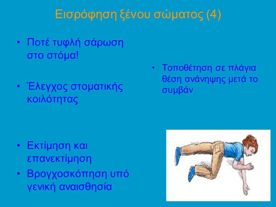 Εισρόφηση ξένου σώματος (4)