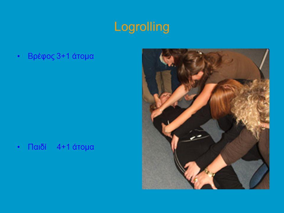 Logrolling Bρέφος 3+1 άτομα Παιδί 4+1 άτομα