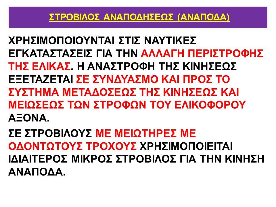 ΣΤΡΟΒΙΛΟΣ ΑΝΑΠΟΔΗΣΕΩΣ (ΑΝΑΠΟΔΑ)