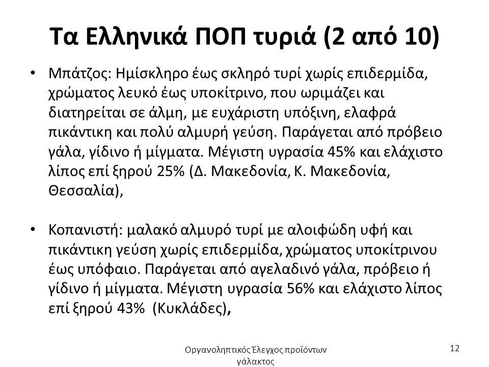 Τα Ελληνικά ΠΟΠ τυριά (2 από 10)