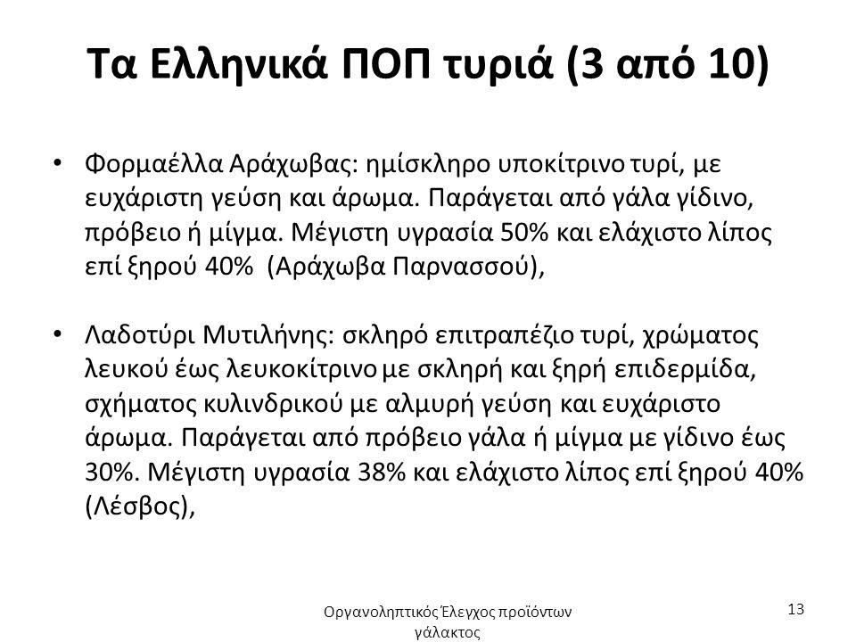 Τα Ελληνικά ΠΟΠ τυριά (3 από 10)