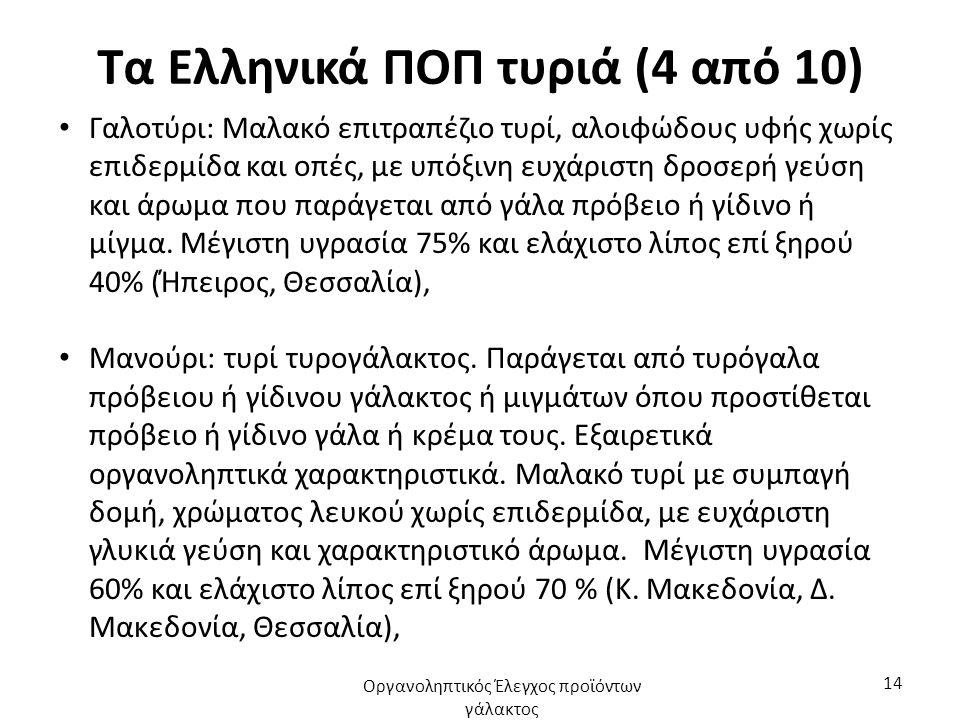 Τα Ελληνικά ΠΟΠ τυριά (4 από 10)