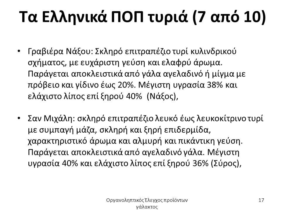 Τα Ελληνικά ΠΟΠ τυριά (7 από 10)