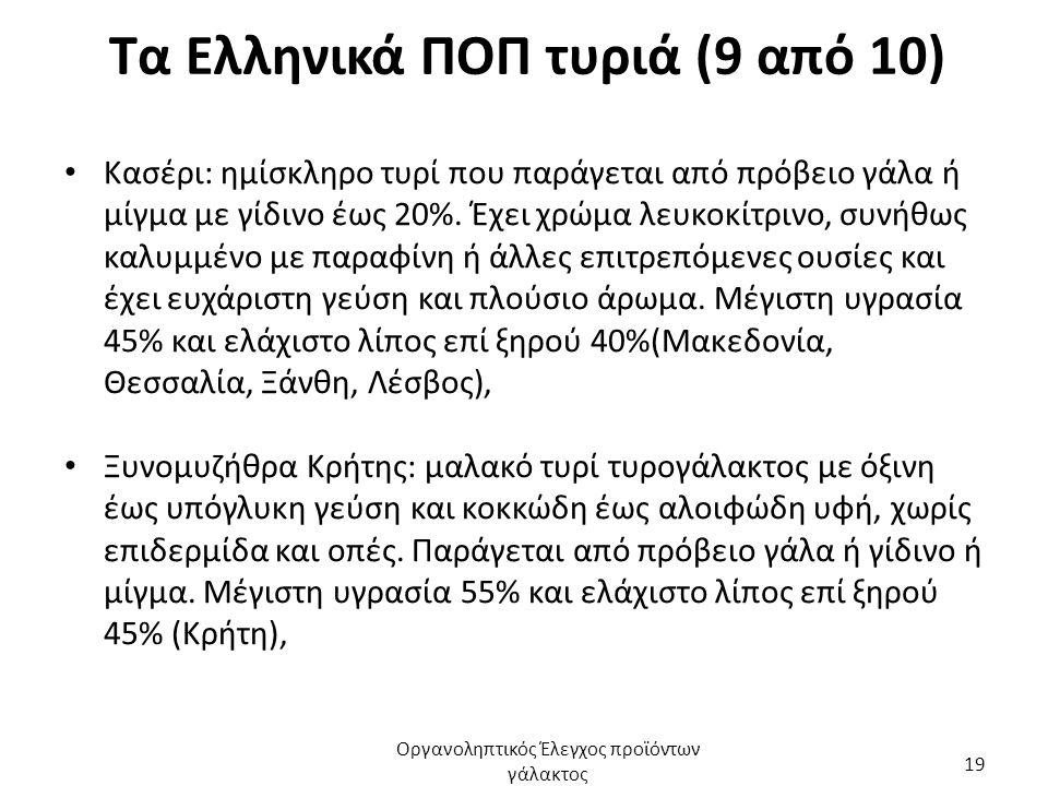 Τα Ελληνικά ΠΟΠ τυριά (9 από 10)