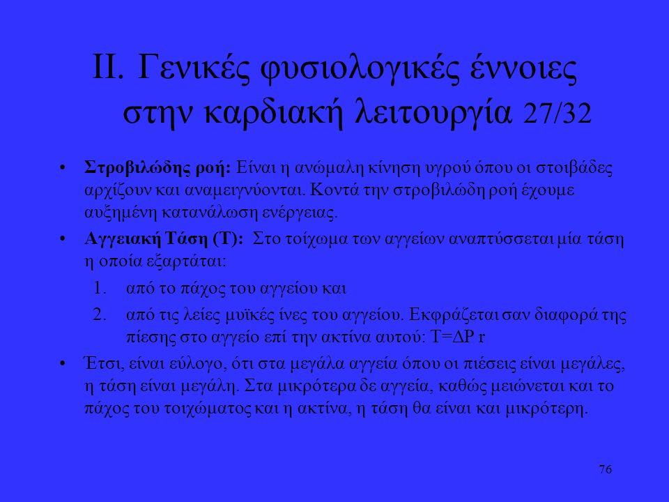 Γενικές φυσιολογικές έννοιες στην καρδιακή λειτουργία 27/32