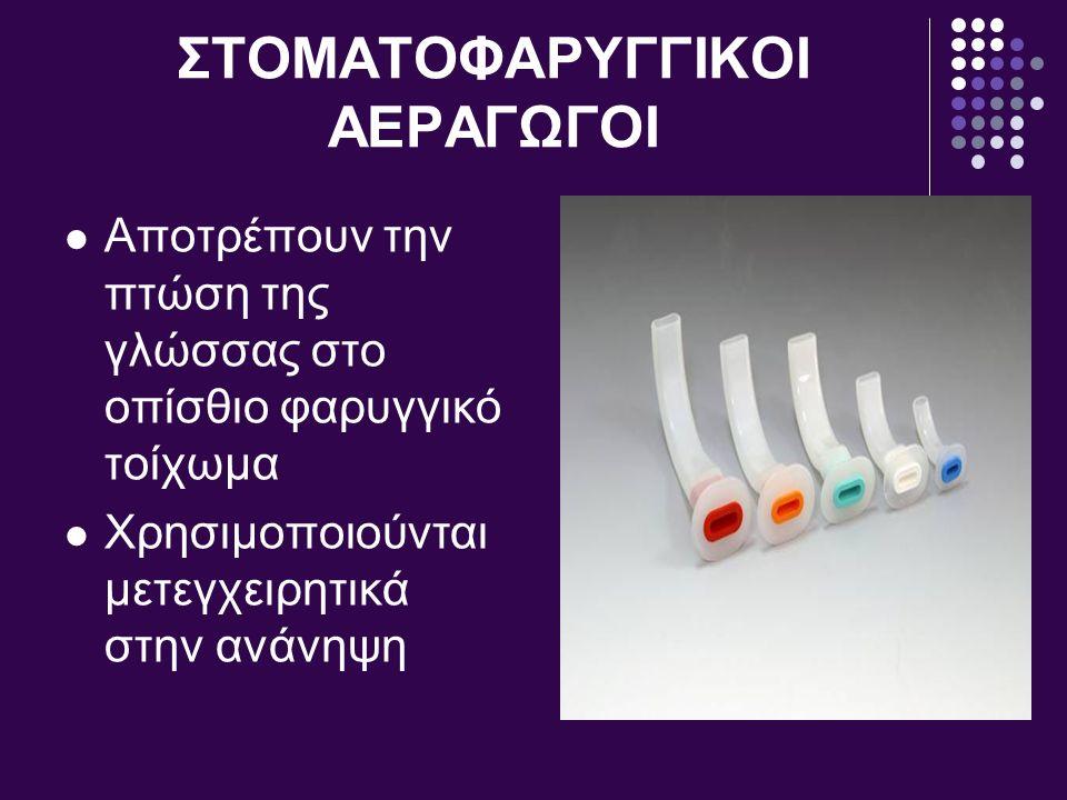 ΣΤΟΜΑΤΟΦΑΡΥΓΓΙΚΟΙ ΑΕΡΑΓΩΓΟΙ