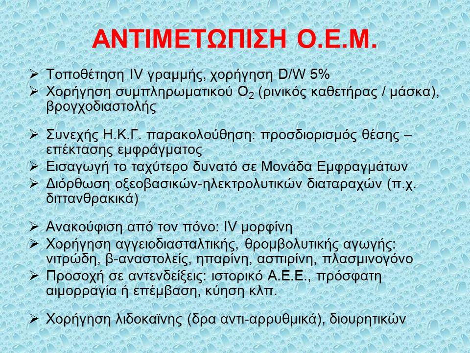 ΑΝΤΙΜΕΤΩΠΙΣΗ Ο.Ε.Μ. Τοποθέτηση IV γραμμής, χορήγηση D/W 5%