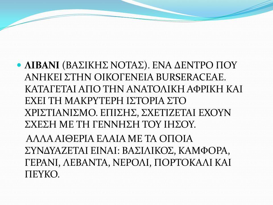 ΛΙΒΑΝΙ (ΒΑΣΙΚΗΣ ΝΟΤΑΣ)