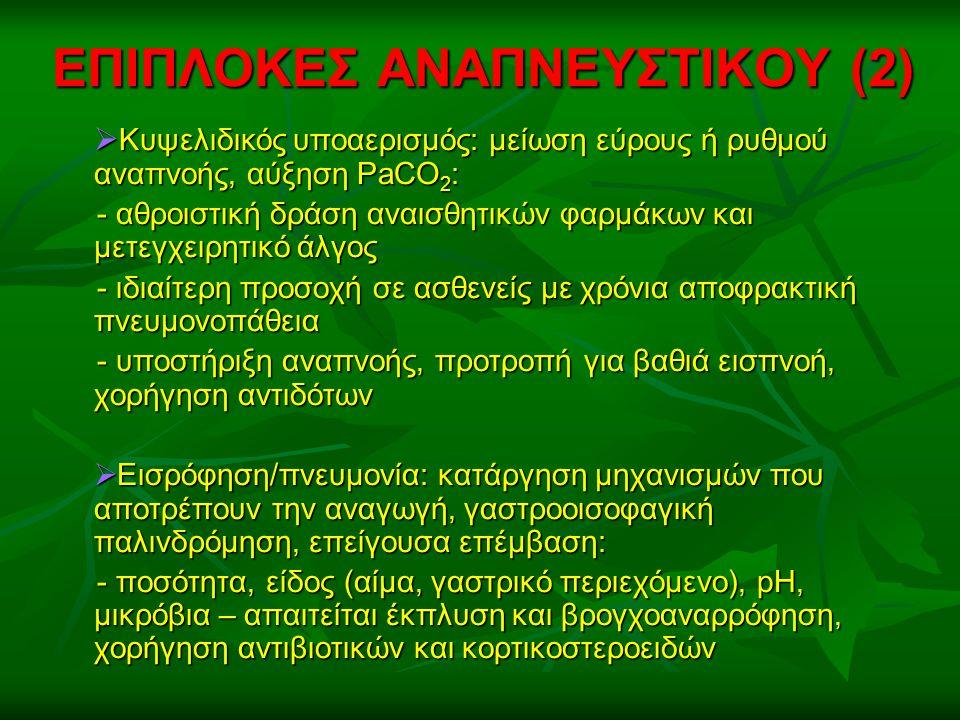 ΕΠΙΠΛΟΚΕΣ ΑΝΑΠΝΕΥΣΤΙΚΟΥ (2)