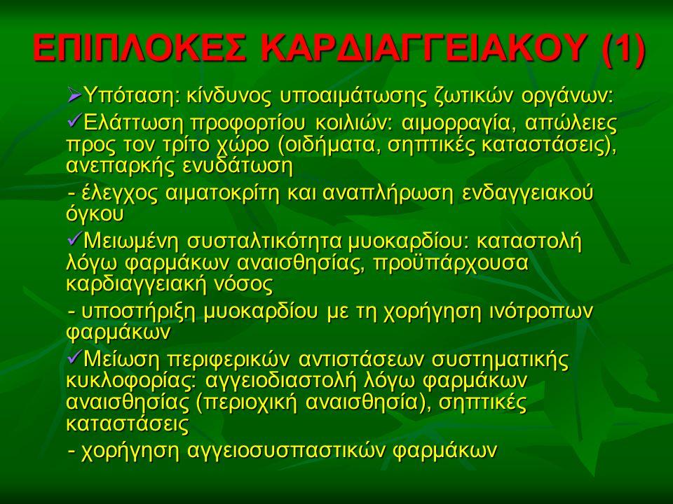 ΕΠΙΠΛΟΚΕΣ ΚΑΡΔΙΑΓΓΕΙΑΚΟΥ (1)