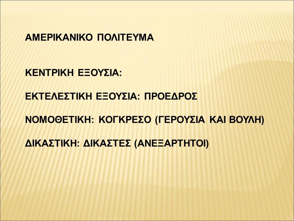 ΑΜΕΡΙΚΑΝΙΚΟ ΠΟΛΙΤΕΥΜΑ