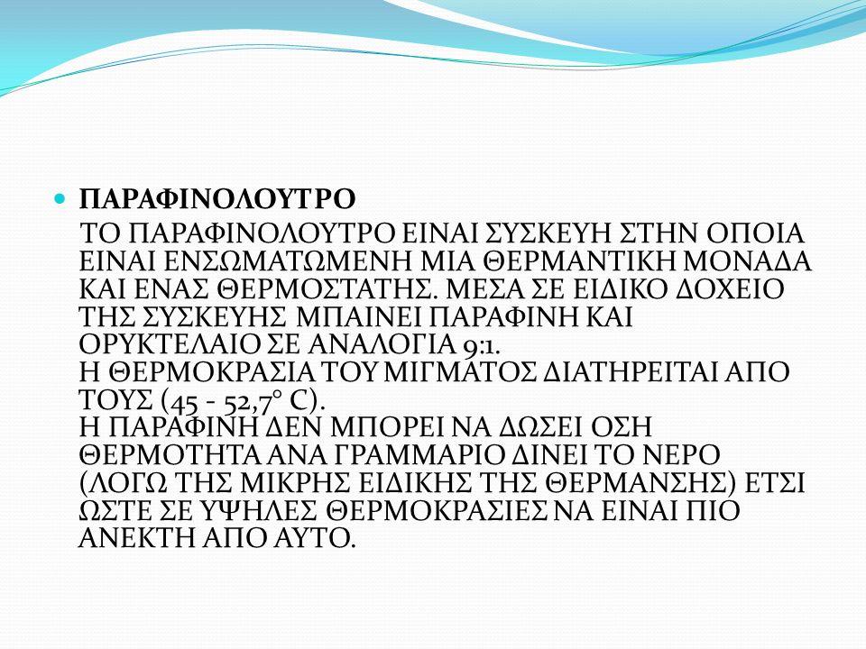 ΠΑΡΑΦΙΝΟΛΟΥΤΡΟ