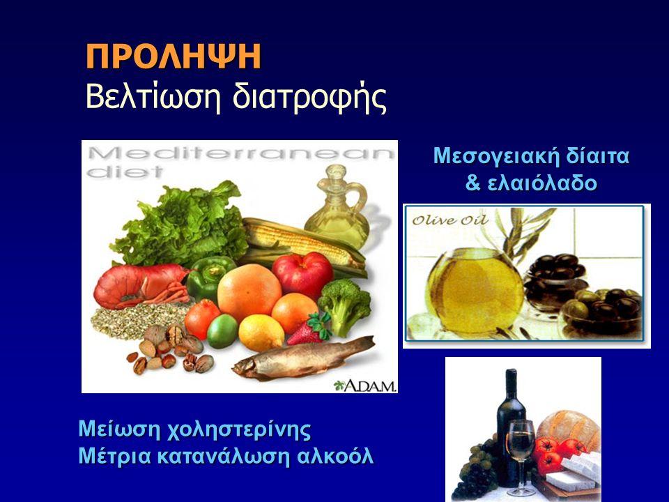 ΠΡΟΛΗΨΗ Βελτίωση διατροφής