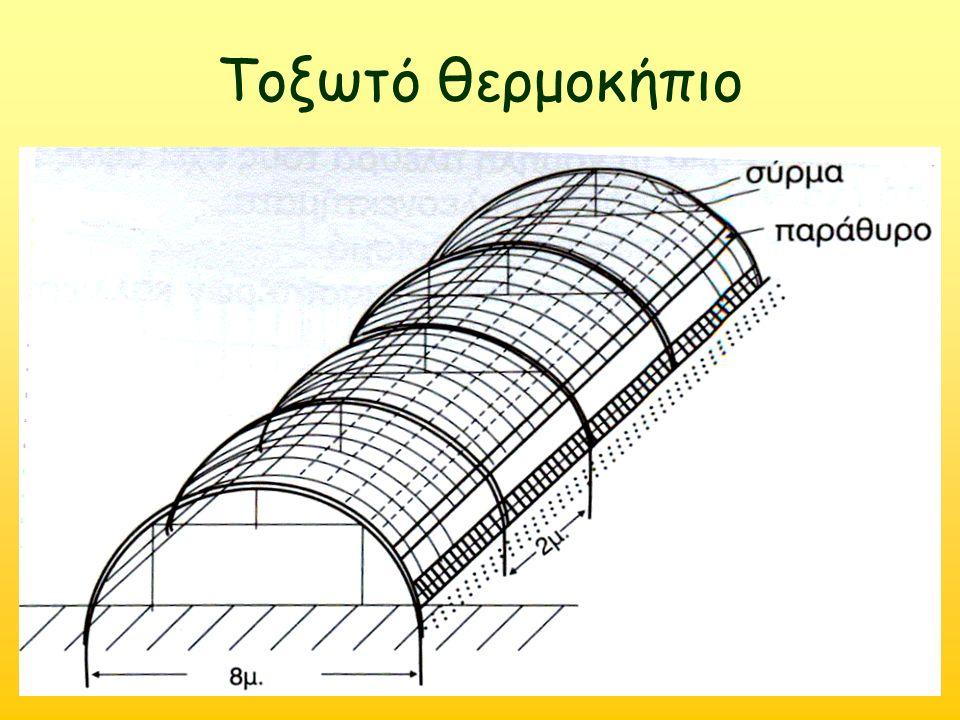Τοξωτό θερμοκήπιο