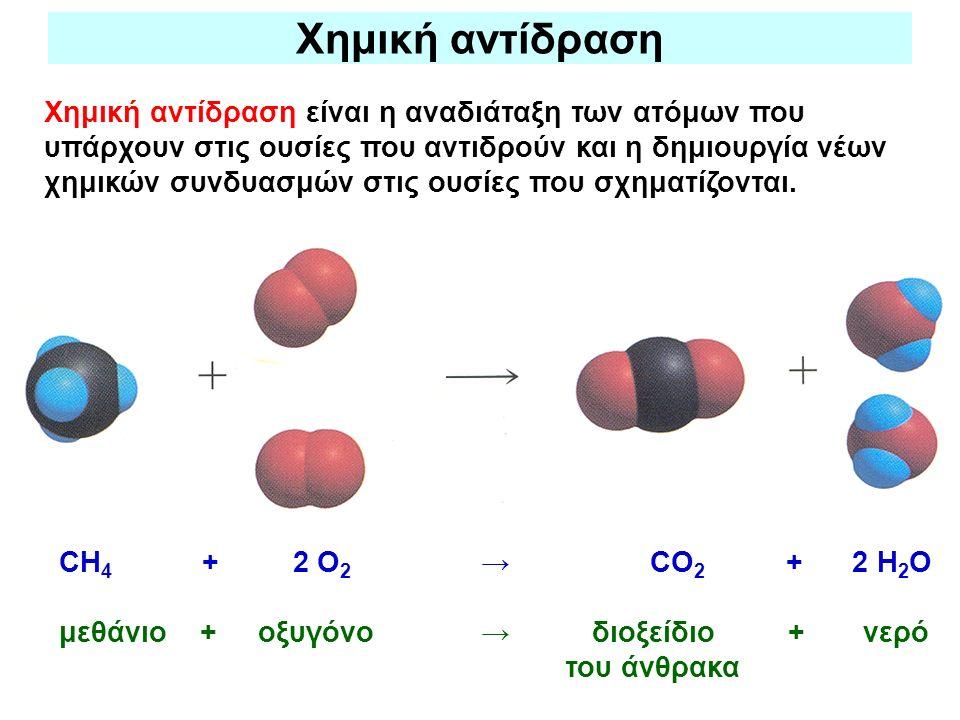Χημική αντίδραση