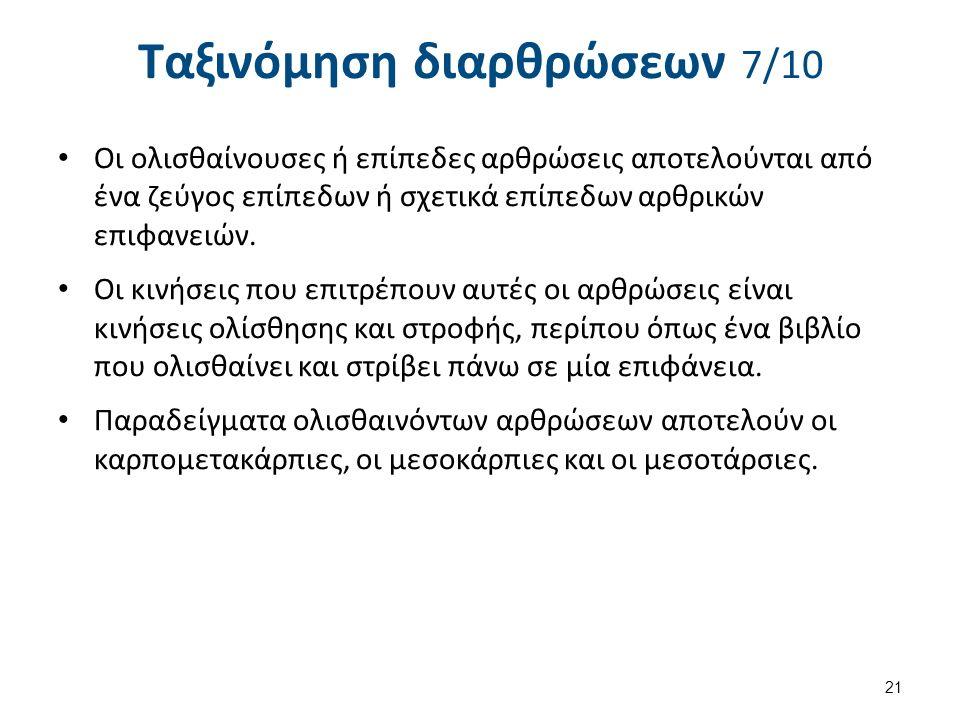 Ταξινόμηση διαρθρώσεων 8/10