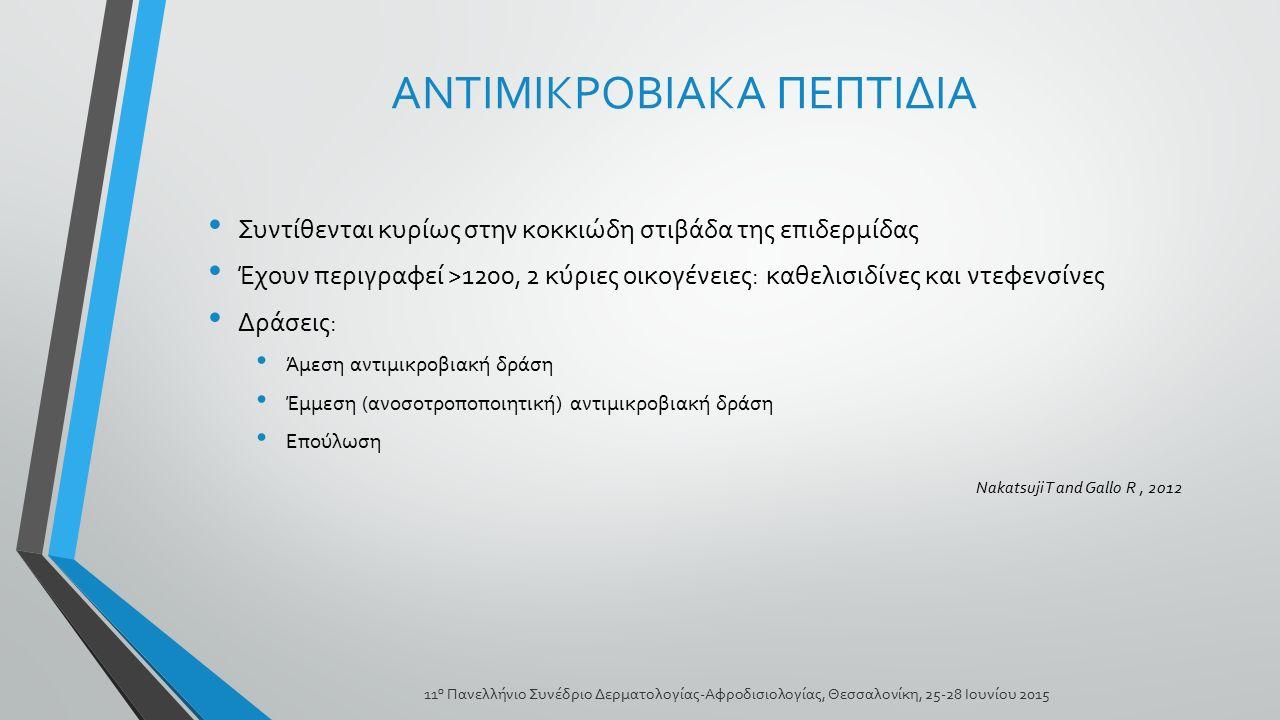 ΑΝΤΙΜΙΚΡΟΒΙΑΚΑ ΠΕΠΤΙΔΙΑ