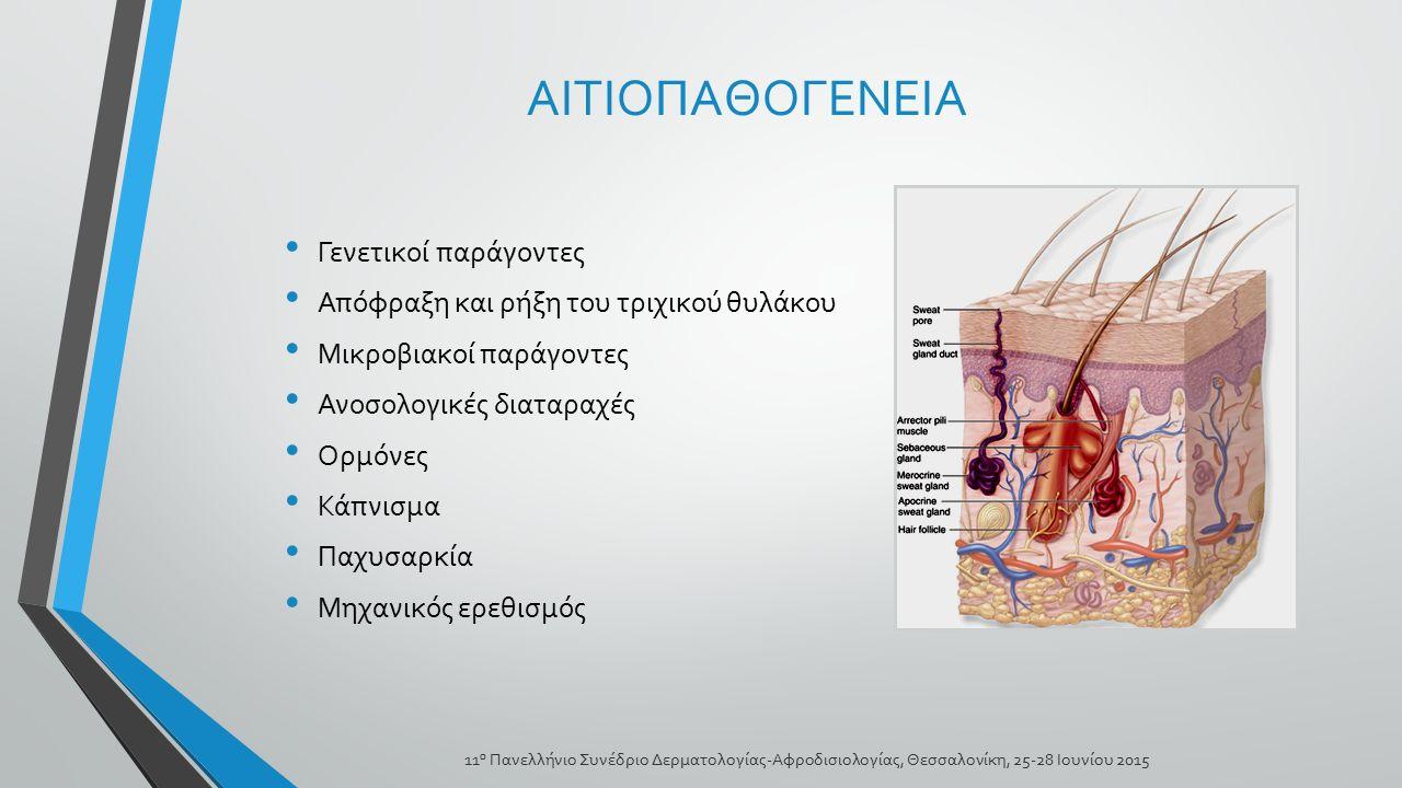 ΑΙΤΙΟΠΑΘΟΓΕΝΕΙΑ Γενετικοί παράγοντες