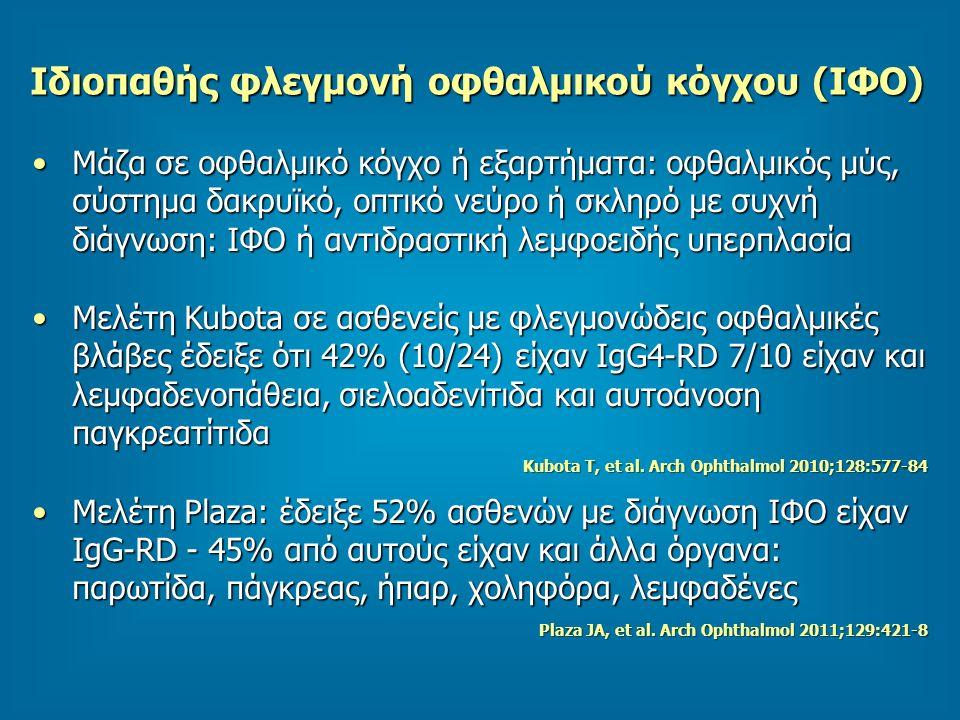 Ιδιοπαθής φλεγμονή οφθαλμικού κόγχου (ΙΦΟ)