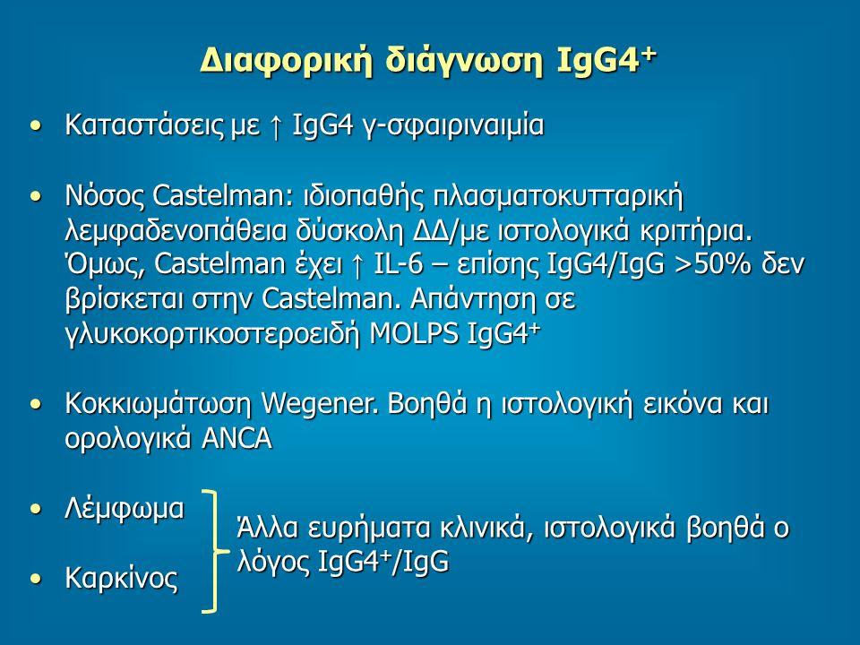 Διαφορική διάγνωση IgG4+