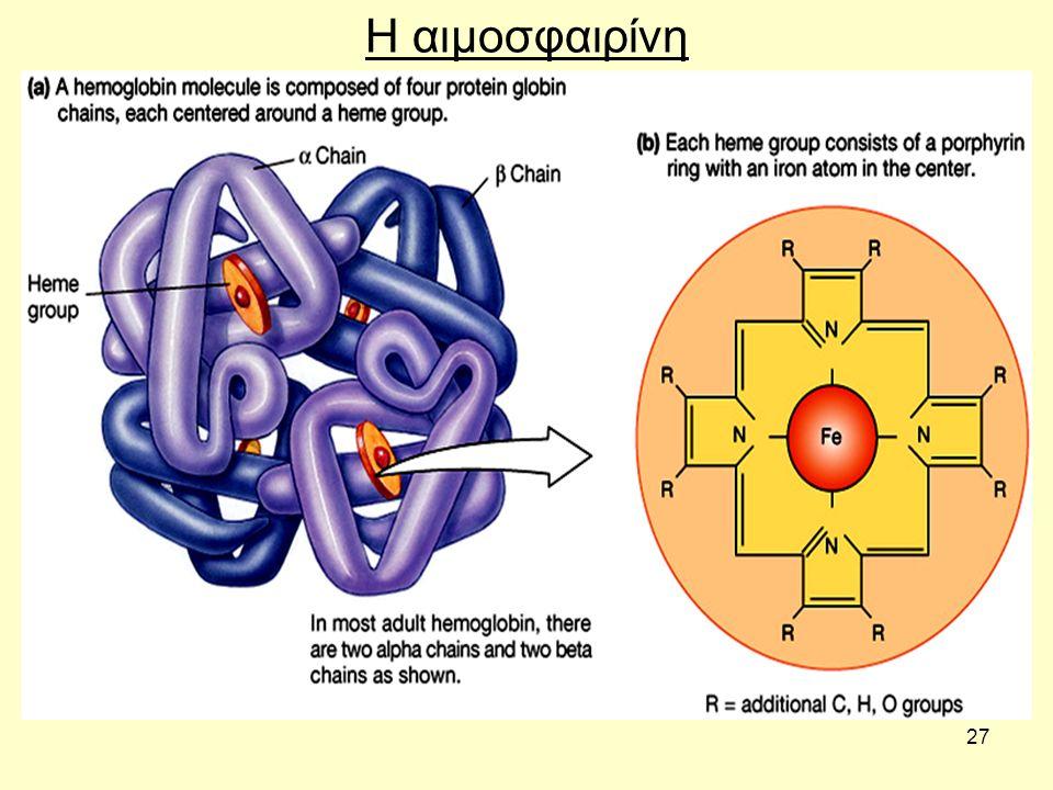 Η αιμοσφαιρίνη