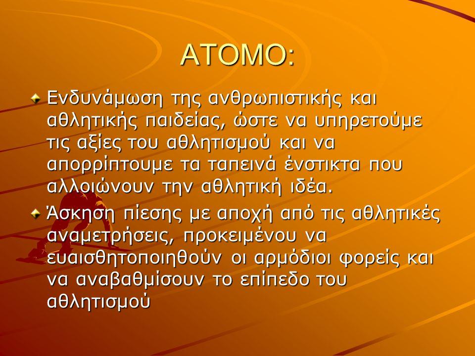 ΑΤΟΜΟ: