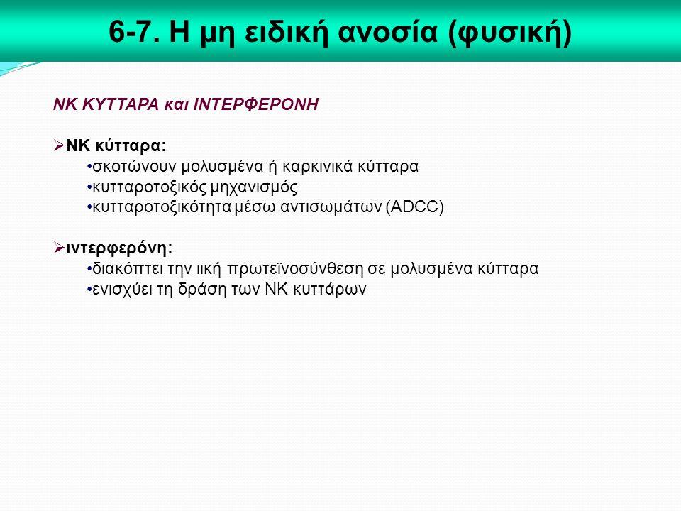 6-7. Η μη ειδική ανοσία (φυσική)