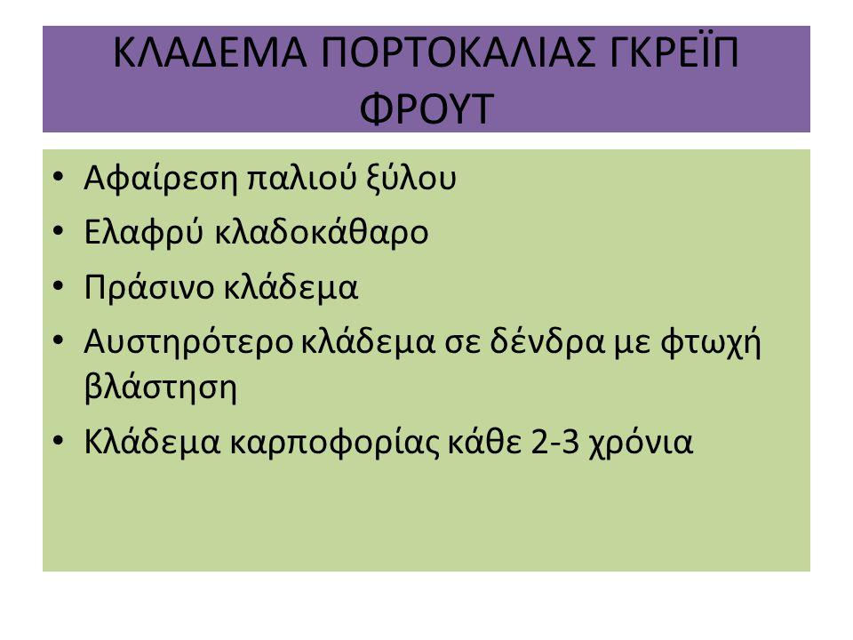 ΚΛΑΔΕΜΑ ΠΟΡΤΟΚΑΛΙΑΣ ΓΚΡΕΪΠ ΦΡΟΥΤ