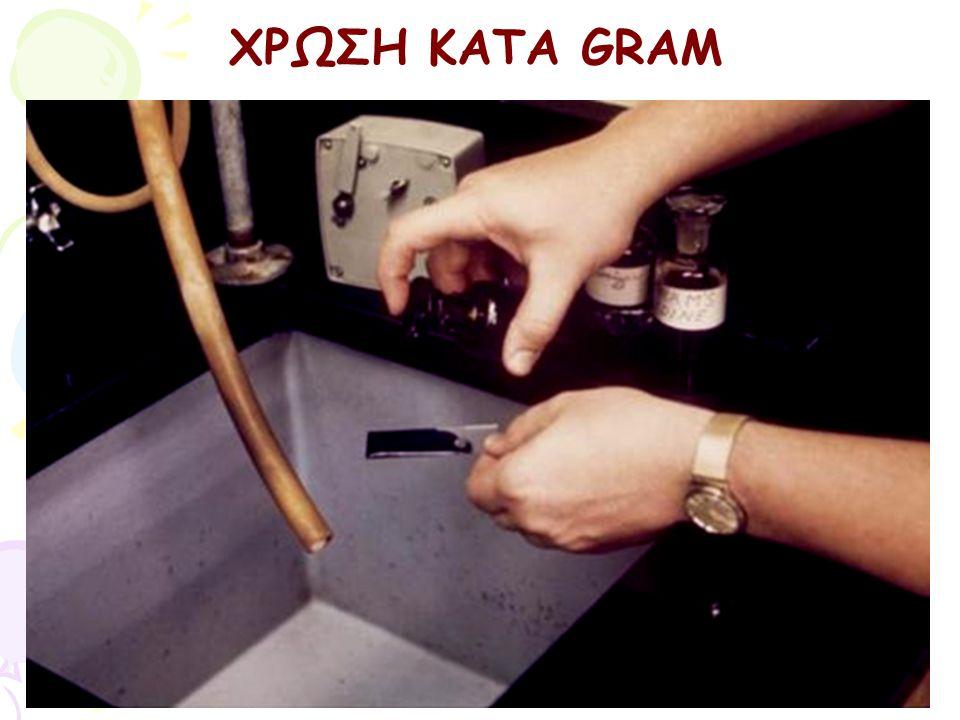 ΧΡΩΣΗ ΚΑΤΑ GRAM