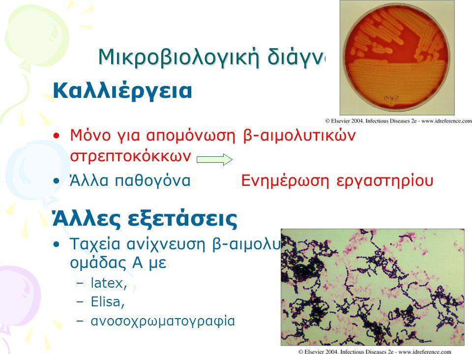 Μικροβιολογική διάγνωση