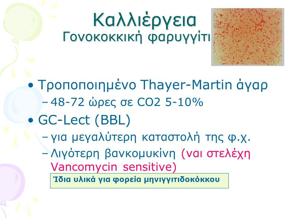 Καλλιέργεια Γονοκοκκική φαρυγγίτιδα