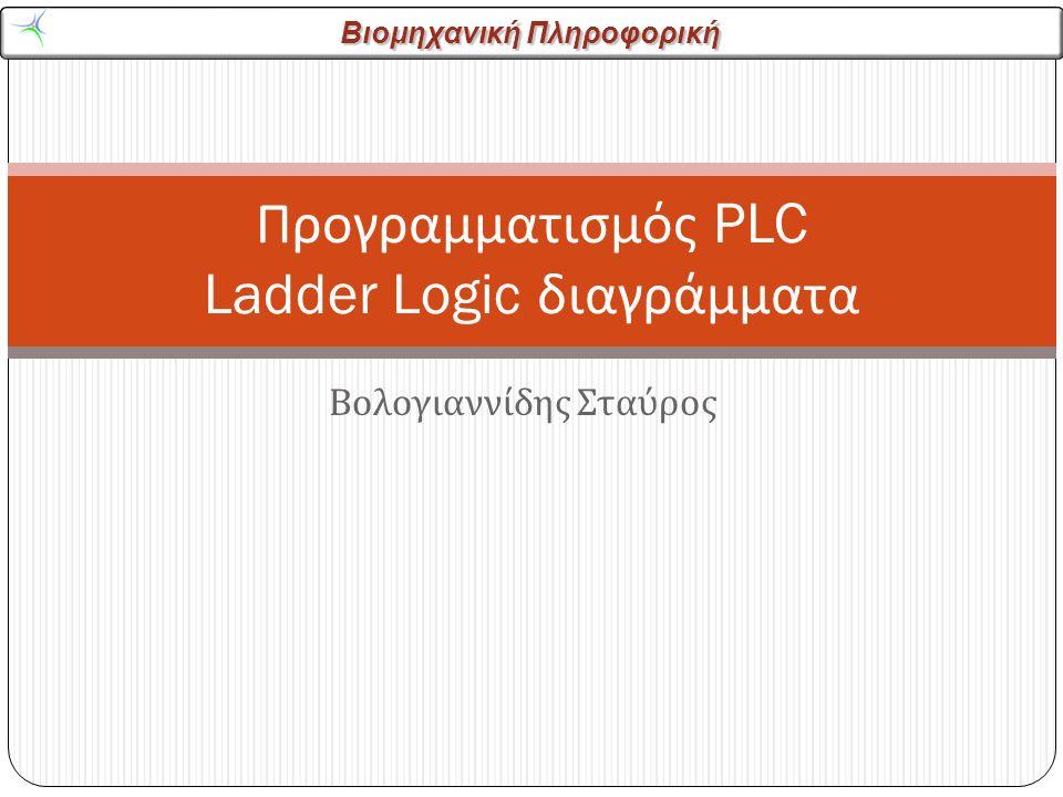 Προγραμματισμός PLC Ladder Logic διαγράμματα